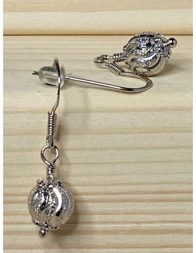 JUSTIN JEWELS Création artisanale Collier argent motif ancre de marine