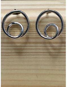 JUSTIN JEWELS Création artisanale Bracelet  argent et agate noire